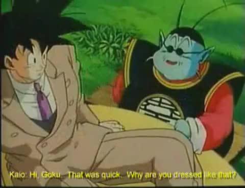 Watch and share Goku GIFs on Gfycat