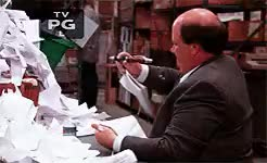 Watch and share Brian Baumgartner GIFs and Paper Airplane GIFs on Gfycat