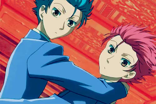 Watch this GIF on Gfycat. Discover more akihito kanbara, amaimon, anime boys, baka and test, black cat, blue exorcist, edward elric, fairy tail, fullmetal alchemist, hikaru and kaoru, kouta tsuchiya, kyoukai no kanata, natsu dragneel, noragami, ouran high school host club, rin okumura, soul eater, soul evans, train heartnet, yukine GIFs on Gfycat