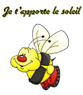 Watch and share Création/animation D'Alice : Je T'apporte Le Soleil animated stickers on Gfycat