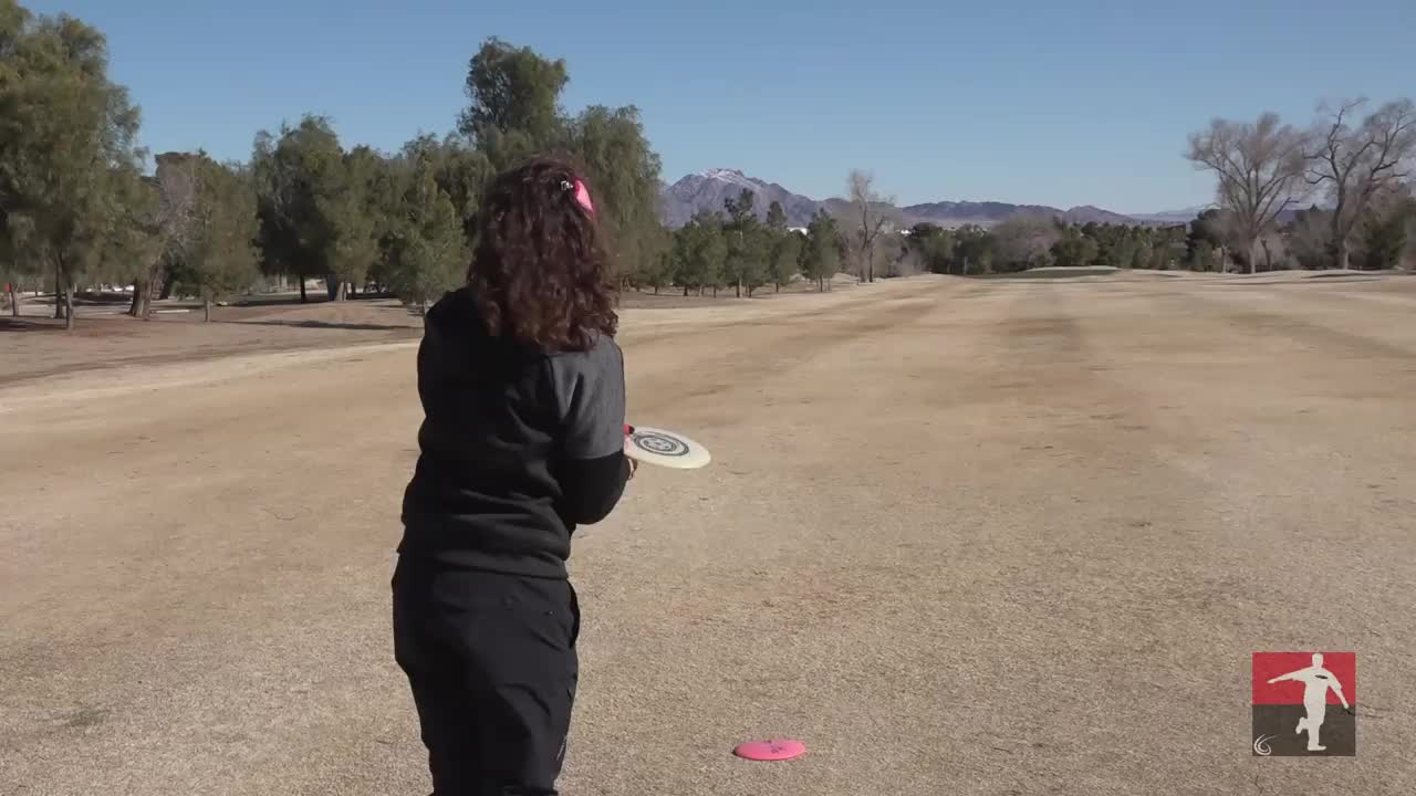 disc golf, disc golf pro tour, field ace, lvc 2019 round 2 jessica weese hole 9 throw-in GIFs