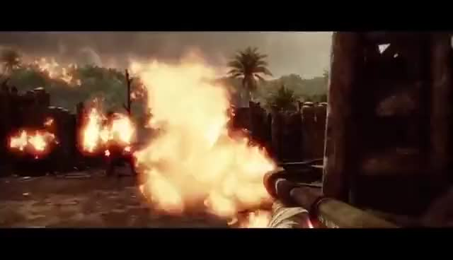 Watch and share Vietnam Flamethrower GIFs on Gfycat