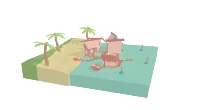Watch and share Fishing Village 1.0118 GIFs on Gfycat