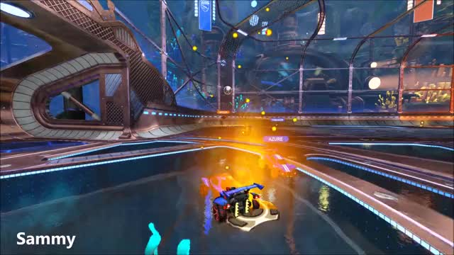Watch and share Rocket League GIFs and Sammy GIFs by azurerl on Gfycat