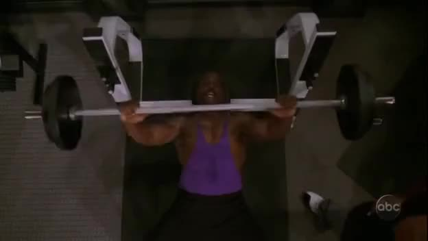 Watch and share Bench Press GIFs and Terry Crews GIFs on Gfycat
