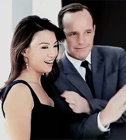 Watch this trending GIF on Gfycat. Discover more agents of s.h.i.e.l.d., agents of shield, aos, aosedit, clark gregg, clark x ming, marvel, marveledit, melinda may, ming na wen, phil coulson, phil x melinda, sciencebiaatch GIFs on Gfycat
