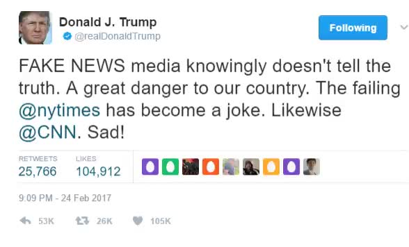 Watch and share Trump-fake-news GIFs on Gfycat