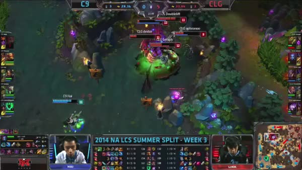 Watch and share Hai Dance At Baron Against CLG GIFs by oplaid on Gfycat
