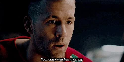 Watch and share Wade, Wilson, Your, Crazy, Matches GIFs on Gfycat