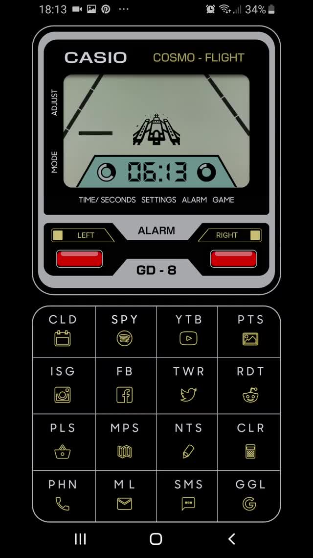 Watch and share Casio Game Watch GIFs and Casio Phone GIFs by ThemeThief on Gfycat
