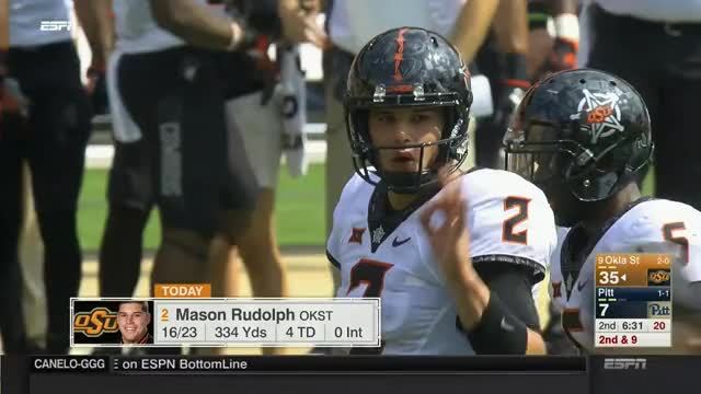 Watch and share Oklahoma State GIFs and Pittsburgh GIFs by Pistols Firing on Gfycat
