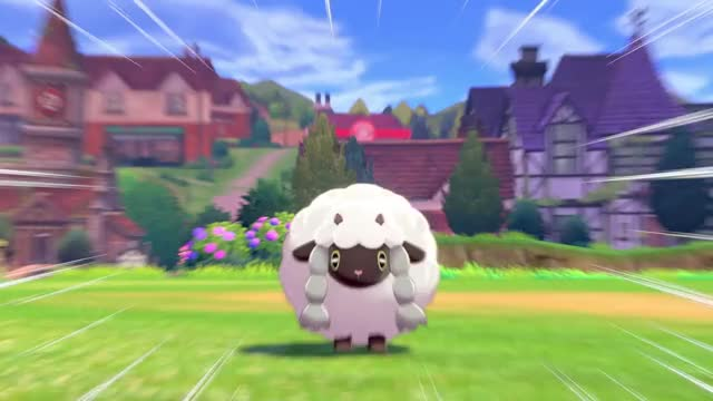 Wooloo Pokemon Sword And Shield Gif By Christopher Burwell