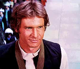 Watch and share Harrison Ford GIFs and Princess Leia GIFs on Gfycat