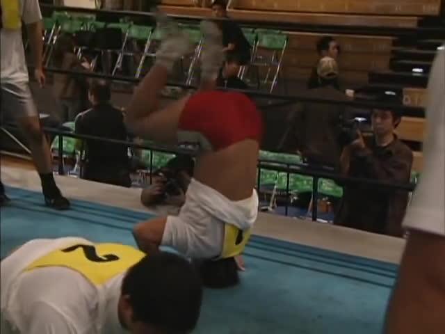 njpw, NJPW GREATESTMOMENTS TETSUYA NAITOU Debut GIFs