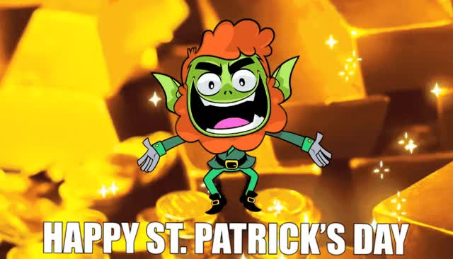 Watch and share St Patrick's GIFs and Leprechaun GIFs by Reactions on Gfycat
