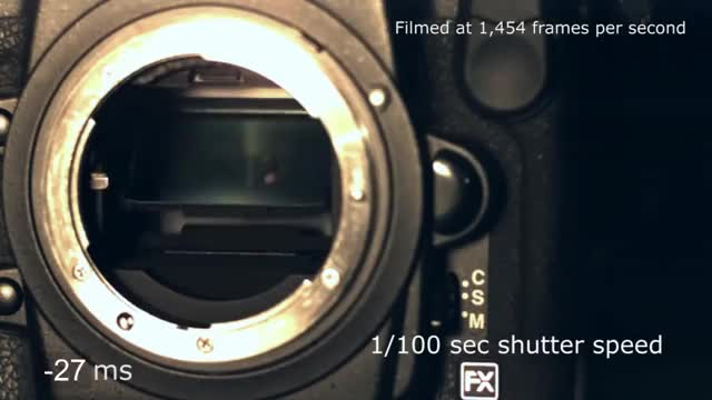 Watch and share Slow Motion Camera Shutter - Nikon D3s (1,454 Fps) GIFs on Gfycat