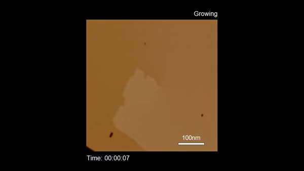 Watch and share Calcite Screw Dislocation Under Continuous CaCO3 Growth-etch Solution (reddit) GIFs on Gfycat