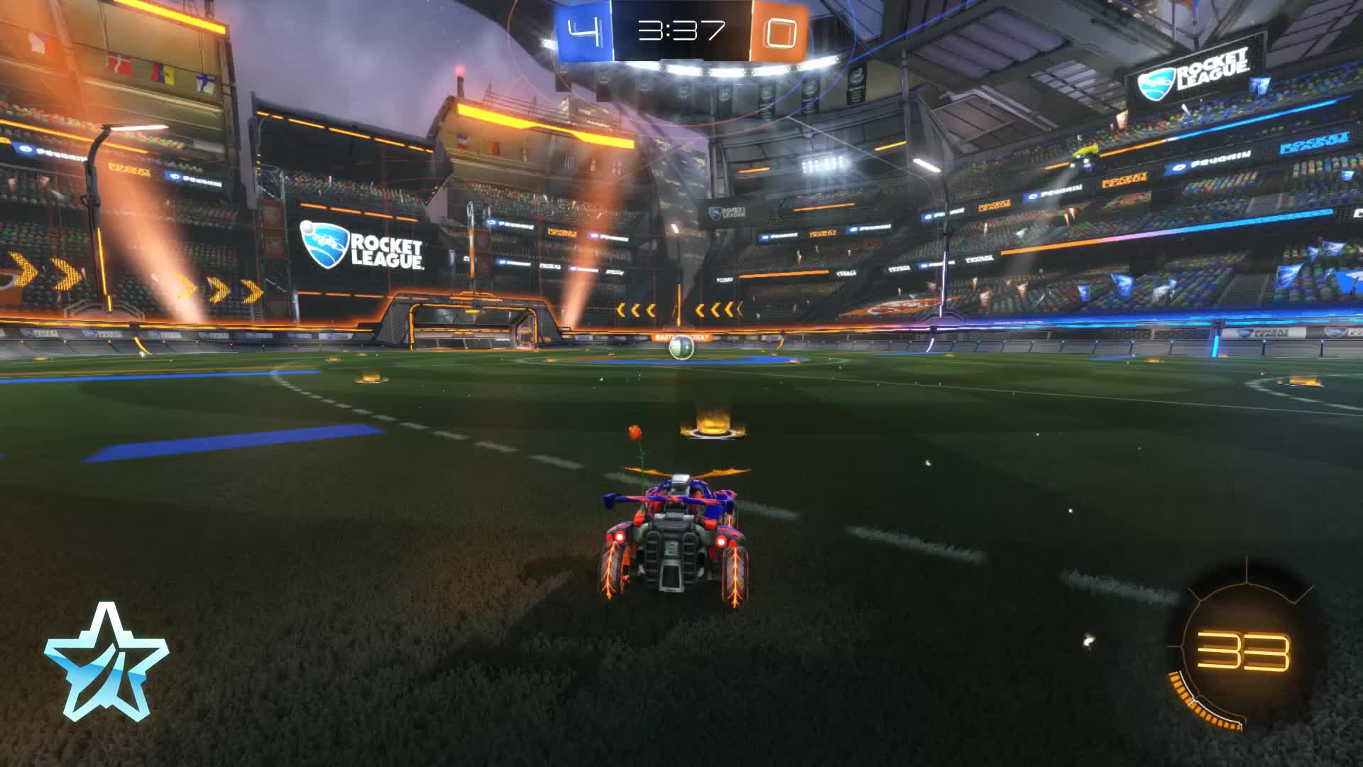 Gif Your Game, GifYourGame, Goal, ItIsK3vin, Rocket League, RocketLeague, 26th Ceiling Shot GIFs