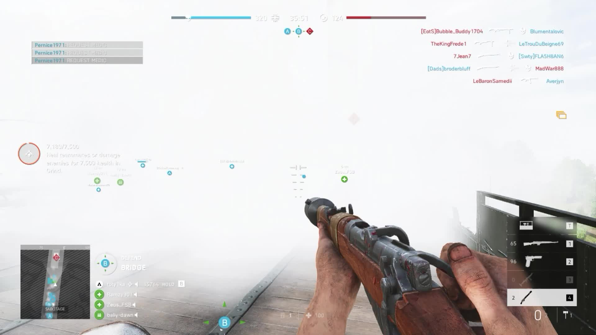 bf, bf5, bfv, frag grenade, multikill, pentakill, Battlefield V - Grind GIFs