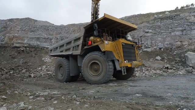 Watch and share Off-road Dump Truck In The Open Pit Mine. Mining Industry In 4K GIFs on Gfycat