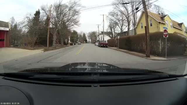 Watch Stop Sign New London-1 GIF on Gfycat. Discover more dashcam GIFs on Gfycat