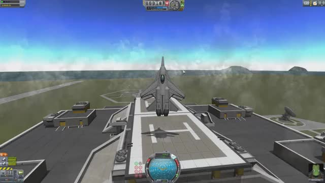 Watch and share Kerbal Vertical Landing Jet GIFs by skyshrim on Gfycat