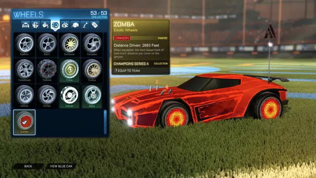 Watch and share Rocket League Crimson Zombas GIFs on Gfycat