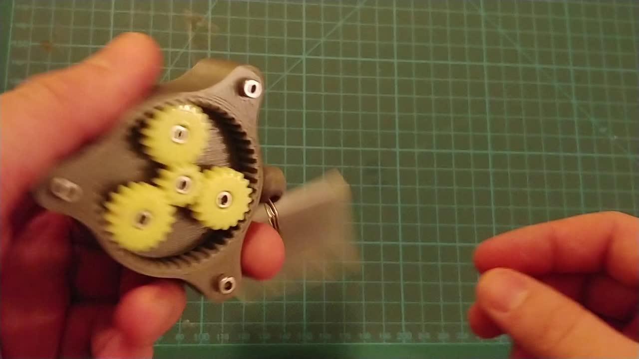 gears keychain GIFs