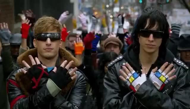 Watch and share Julian Casablancas GIFs and Fingerless Gloves GIFs on Gfycat