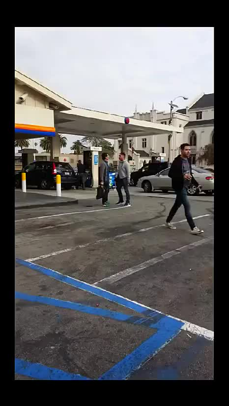 Watch Lady gets stabbed, saved by boyfriend knocking him out (reddit) GIF on Gfycat. Discover more gtaonline, gtav GIFs on Gfycat