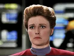 Watch and share Star Trek Voyager GIFs and Kathryn Janeway GIFs on Gfycat