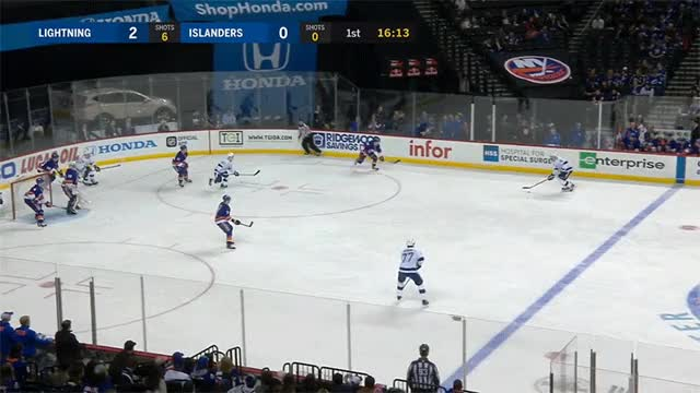 Watch and share Tampa Bay Lightning GIFs and New York Islanders GIFs by spizzwolf on Gfycat