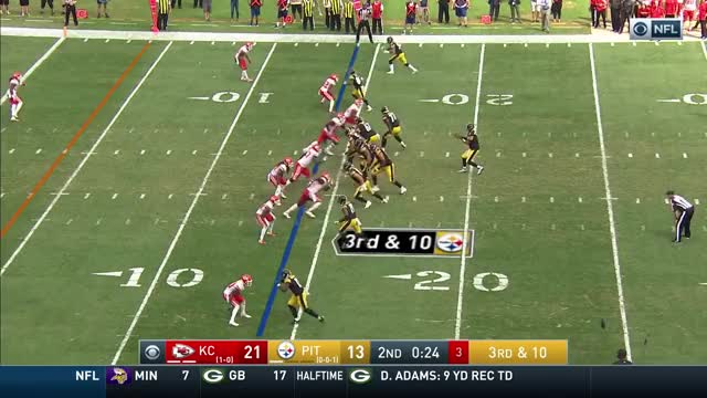 Watch and share Ben Roethlisberger GIFs and James Washington GIFs by Erik Smith on Gfycat