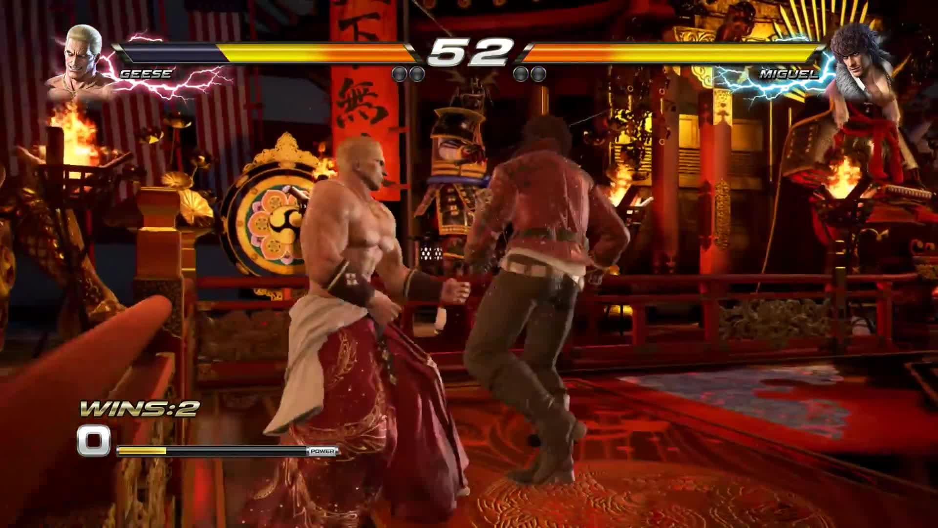 Tekken 7 Early Geese Howard Gameplay Gif By Veloc1raptor Gfycat
