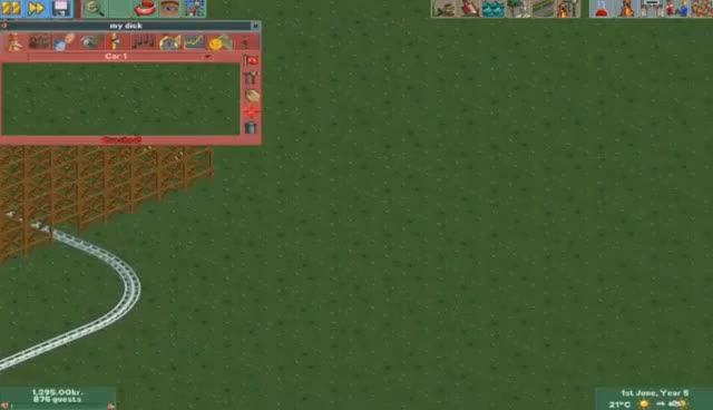 [Vinesauce] Joel - Destroying Rollercoaster Tycoon