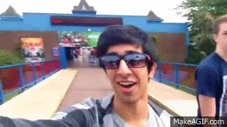 Watch THORPE PARK VLOG with The Sidemen GIF on Gfycat. Discover more related GIFs on Gfycat