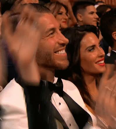 applause, celebs, clap, clapping, jim carrey, sergio ramos,  GIFs