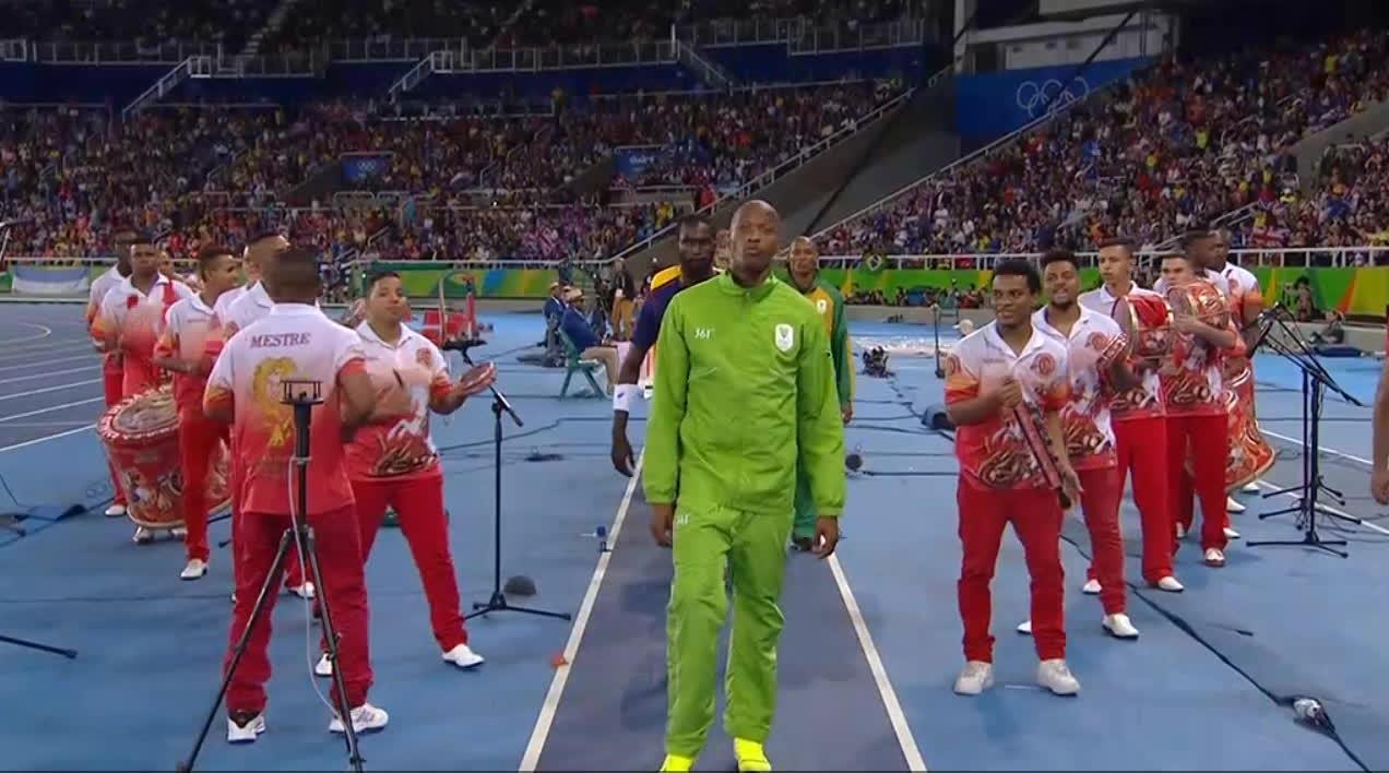 olympics, Luvo Manyonga Dabbing GIFs