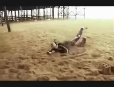 Watch and share Devvo At The Beach - Whatever - Channel 4 GIFs on Gfycat