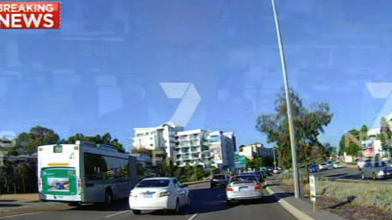 Perth bus crash GIFs