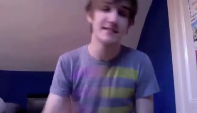 Watch and share Hair Pushed Back GIFs and Bo Burnham GIFs on Gfycat