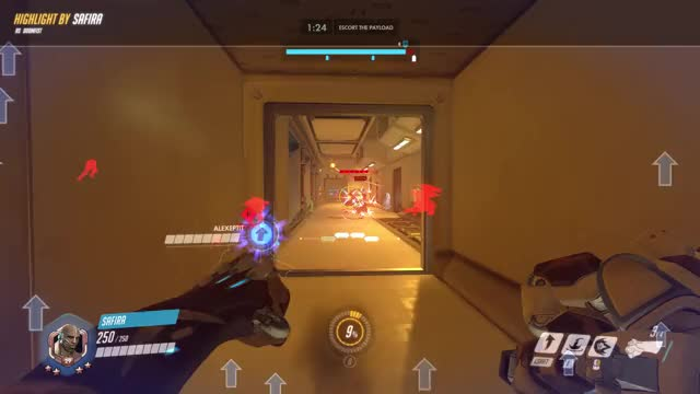 Watch and share Highlight GIFs and Overwatch GIFs by Safira on Gfycat