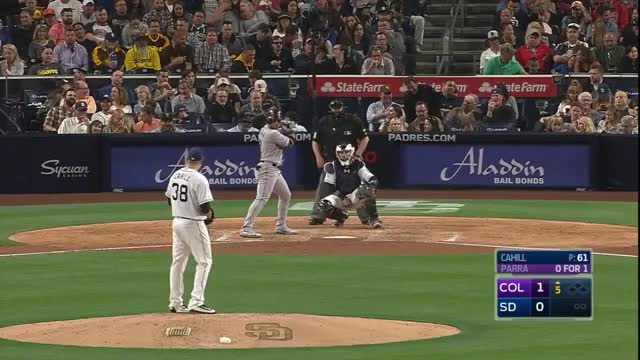 Watch and share Colorado Rockies GIFs and San Diego Padres GIFs on Gfycat