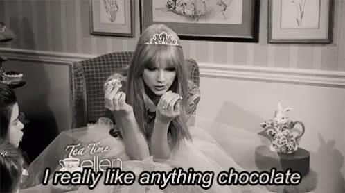 chocolate, taylor swift, chocolate GIFs