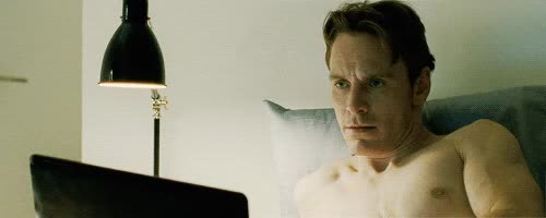 Watch and share Michael Fassbender GIFs and In Bed GIFs on Gfycat