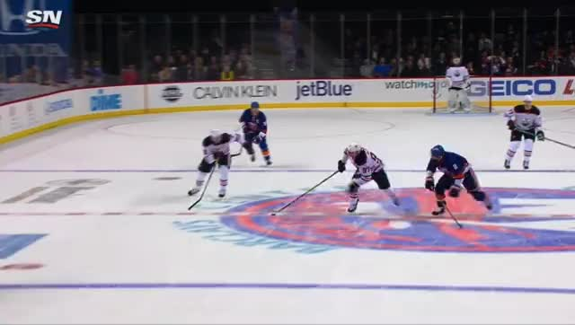 Watch and share McDavid Overtime Islanders.mov GIFs by cultofhockey on Gfycat