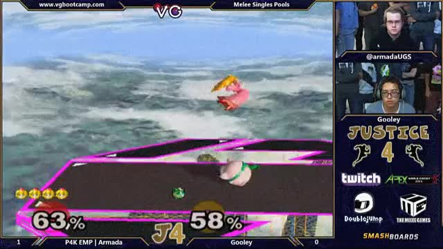 Watch Justice 4: Armada kill after Gooley missed a rest. (reddit) GIF on Gfycat. Discover more smashbros GIFs on Gfycat