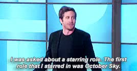 Watch and share Jake Gyllenhaal Gif GIFs and Public Appearances GIFs on Gfycat