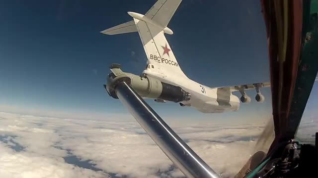Watch MiG aerial refueling GIF by wholeein on Gfycat. Discover more militarygfys GIFs on Gfycat