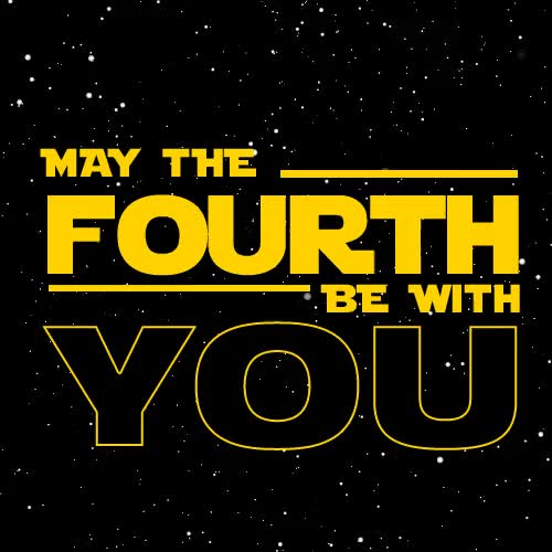 Watch and share May The 4th Be With You GIFs on Gfycat